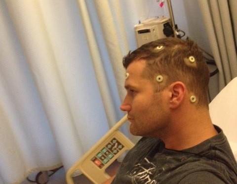 Sensors in head